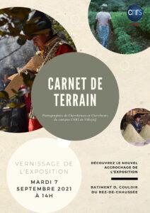 """Exposition """"Carnet de terrain"""" (2ème édition)"""